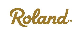 Roland Logotype Tm Rgb Gold