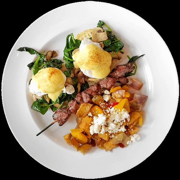 Athena Farms Breakfast Plate